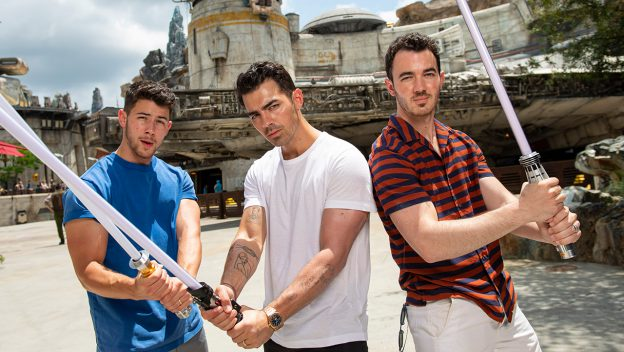 Jonas Brothers Visit Batuu At Disney's Hollywood Studios