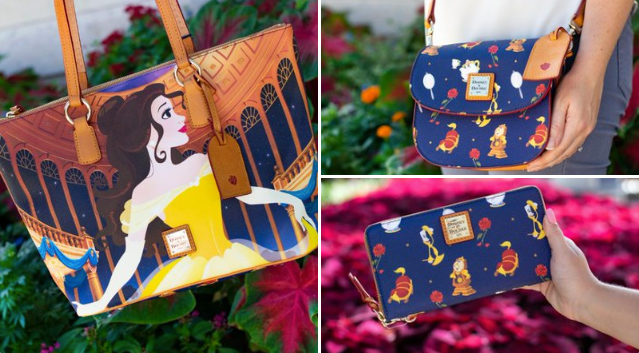 Enchanting New Beauty and The Beast Dooney and Bourke Collection 1