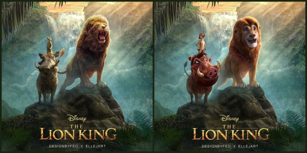 Disney Fan Reanimates Live-Action 'The Lion King' Characters to Look More Like the Original Film 1