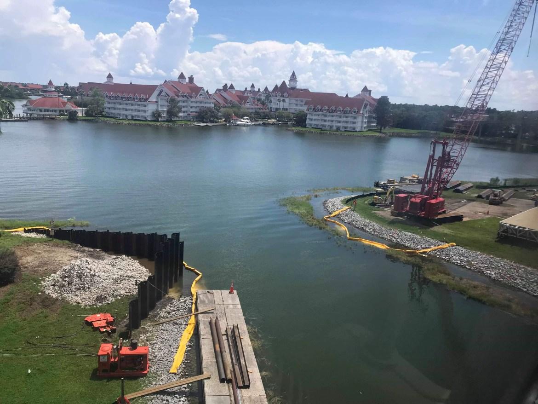 Grand Floridian To Magic Kingdom Drawbridge Update