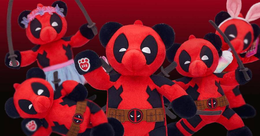 There Is A Deadpool Build-A-Bear And We Absolutely Need It
