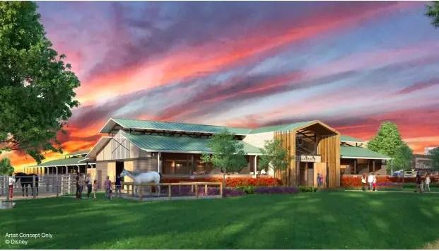 New Barn at Tri-Circle-D Ranch at Disney's Fort Wilderness Resort