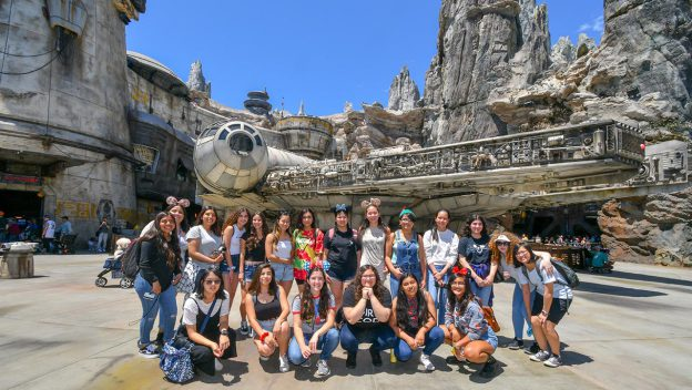 Disneyland's Galaxy's Edge Welcomes 'Girls Who Code'
