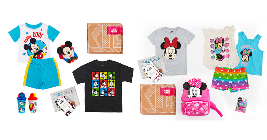 KIDBOX Launches Limited Edition Mickey and Minnie  Style Boxes