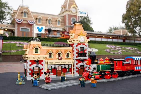 All new Disney Train and Station from LEGO coming Sept 1st! 1