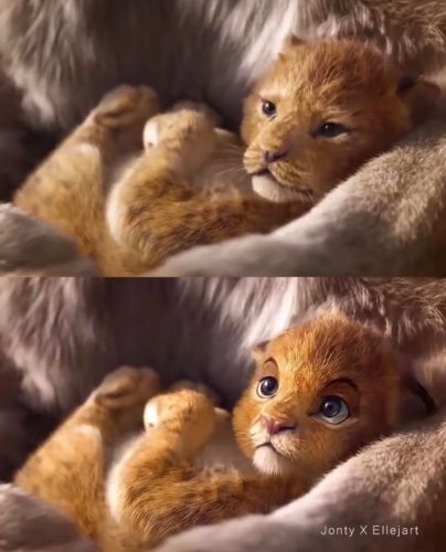 Disney Fan Reanimates Live-Action 'The Lion King' Characters to Look More Like the Original Film 2