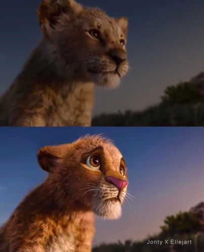 Disney Fan Reanimates Live-Action 'The Lion King' Characters to Look More Like the Original Film 5