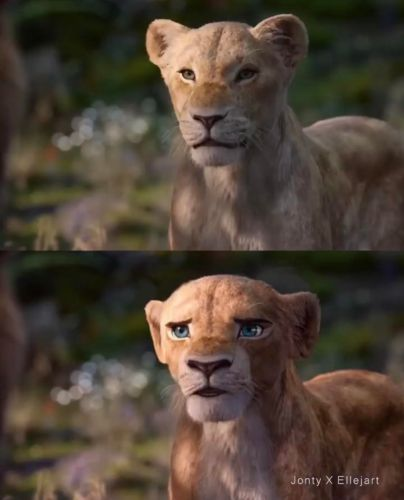 Disney Fan Reanimates Live-Action 'The Lion King' Characters to Look More Like the Original Film 8