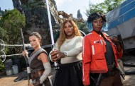 Serena Williams visits Star Wars: Galaxy's Edge at Walt Disney World Resort