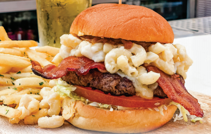 Celebrate the End of Summer with the September Burger of the Month at Uva Bar & Cafe in Downtown Disney