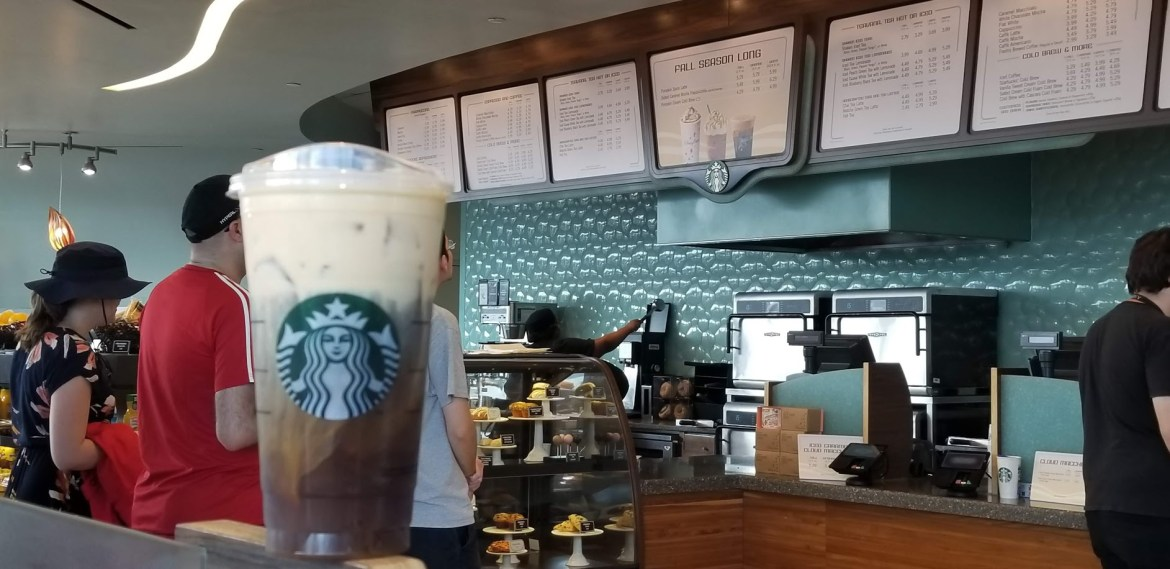 Fountain View Starbucks in Epcot is Closing Today