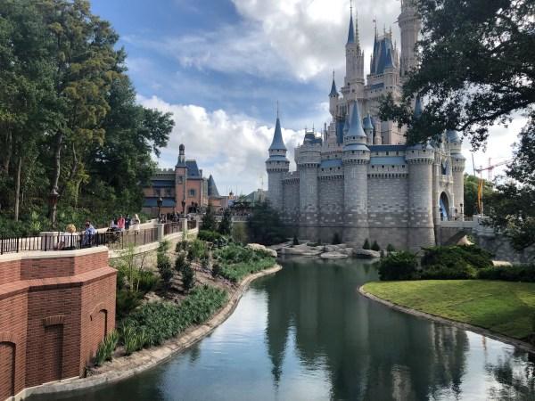 Cinderella Castle moat