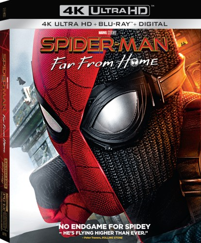 Spider-Man: Far From Home coming to Digital on 9/17 and 4K Ultra HD Blu-ray & DVD 10/1 1