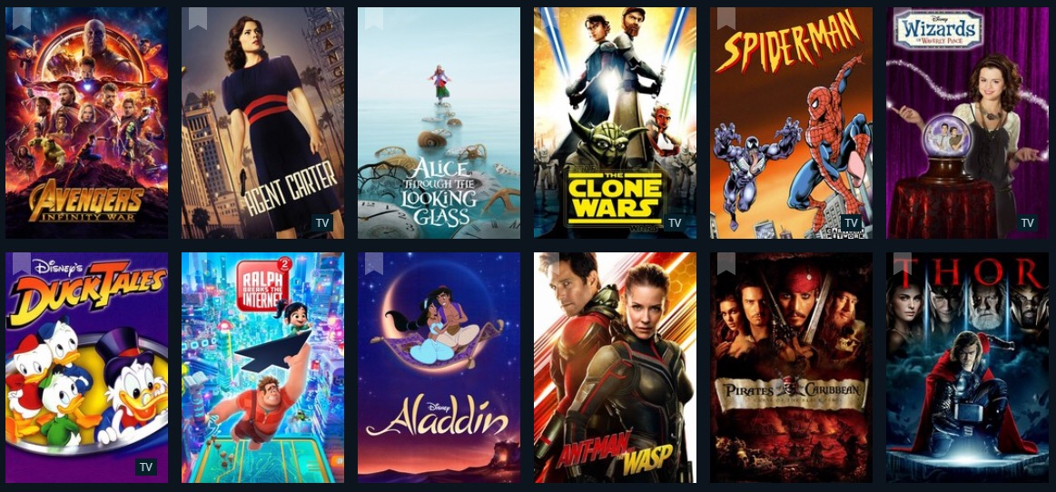 Take A Look At All The Content Coming To Disney+ On Launch Day