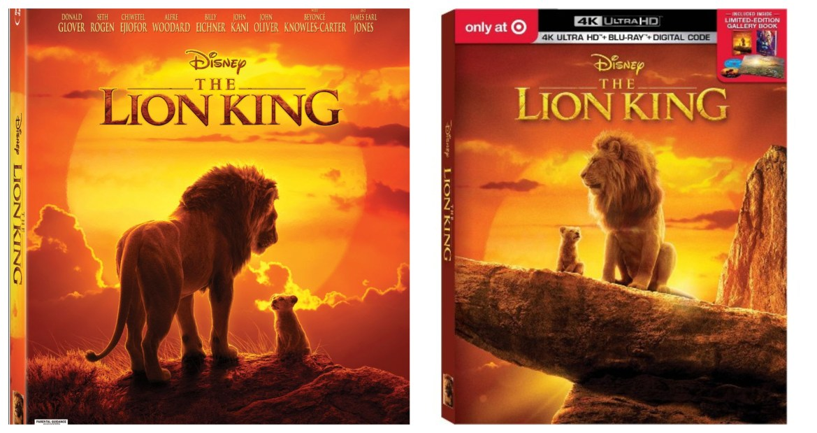 Disney's The Lion King Arrives on Digital & Bluray this October!