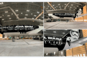 LATAM unveils new Star Wars Galaxy's Edge Inspired Plane
