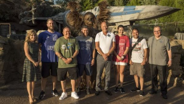 Five Lucky Military Families Get A Sneak Peek of Star Wars: Galaxy's Edge