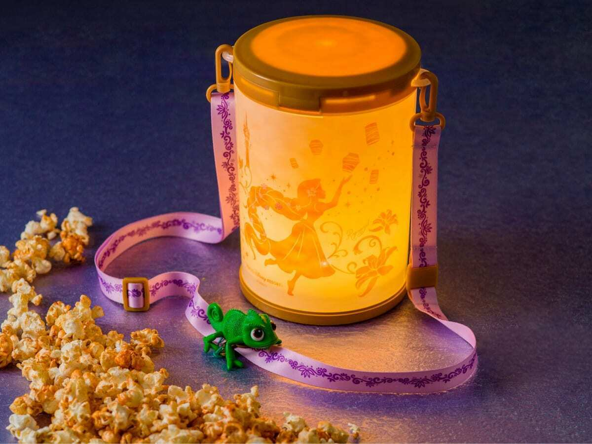 Tangled Popcorn Bucket From TDR Gleams And Glows 3