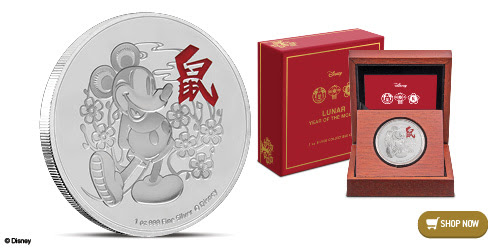 Disney Lunar Coin Collection Celebrates The 2020 Lunar New Year