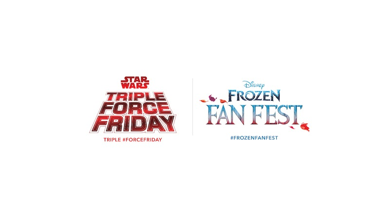 Star Wars and Frozen Fans Around the World Celebrate Unprecedented Global Product Launch