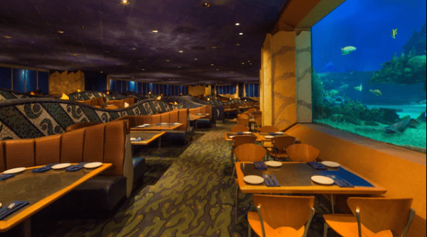 Coral Reef Restaurant in Epcot is offering a Little Mermaid menu for the 30th Movie Anniversary 1