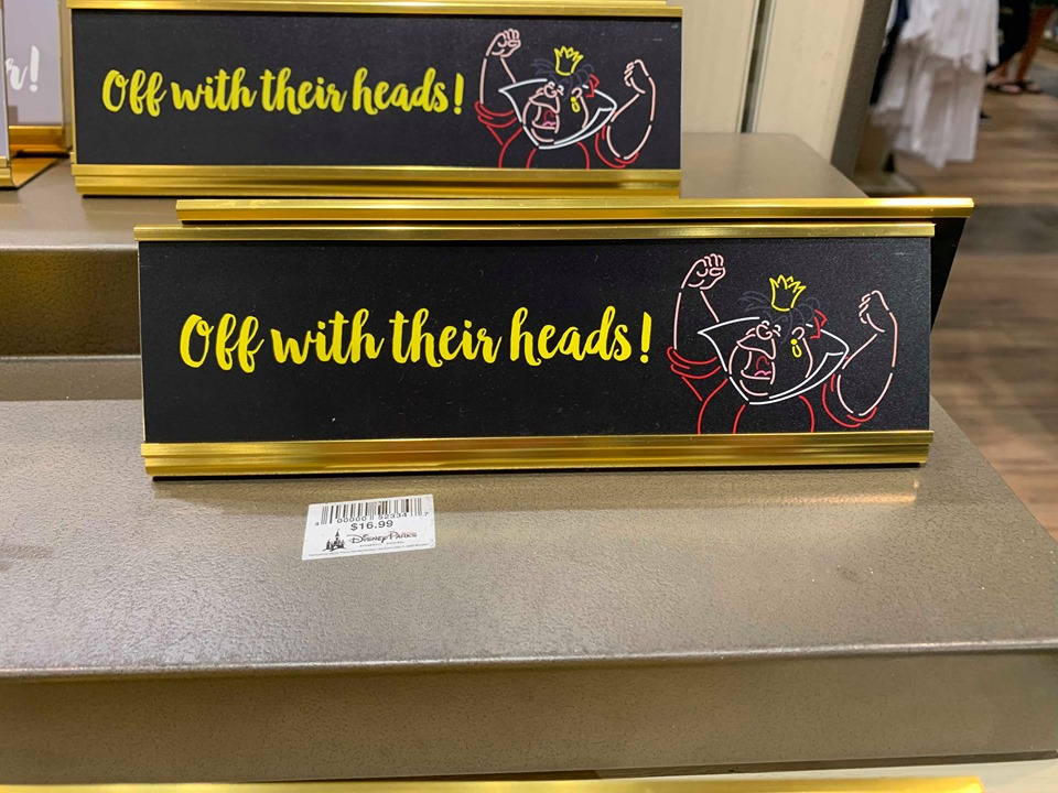 Disney Parks Desk Signs Add A Touch Of Magic To your Work Space 4