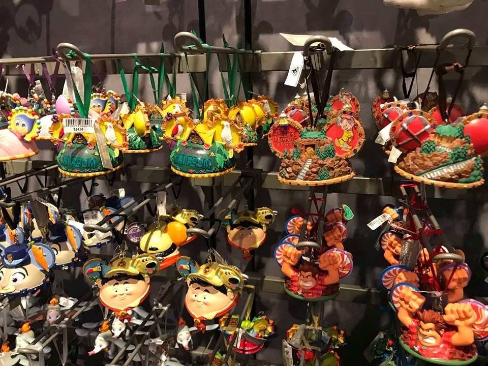 New Mickey Ear Hat Ornaments For The 2019 Holiday Season