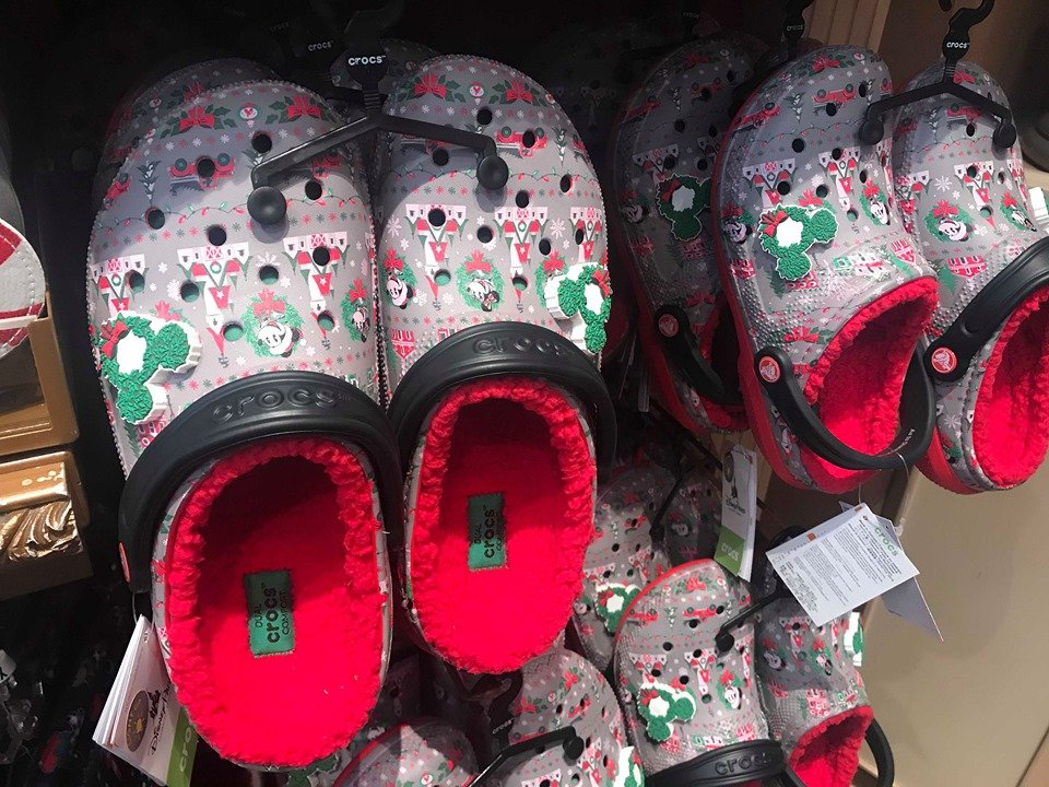 Disney Christmas Crocs Are Here To Get Your Feet In The Holiday Spirit