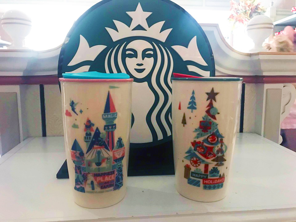 New Disney Parks Starbucks Mugs Are Here, With Holiday Designs Too!