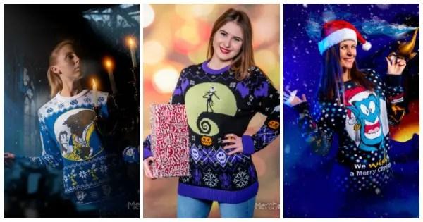 Disney Christmas Sweater Range From Merchoid Is Full Of Festive Fun 1