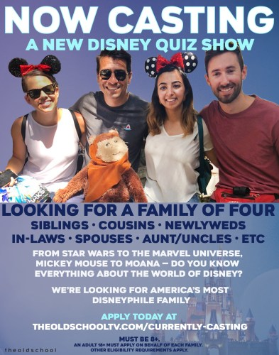 Disney is casting for an all new Competition Show on Disney+ called The Disney Files 1