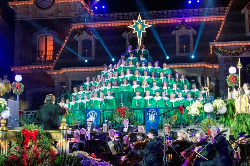 Disneyland Releases Official Dates For Their Candlelight Processional