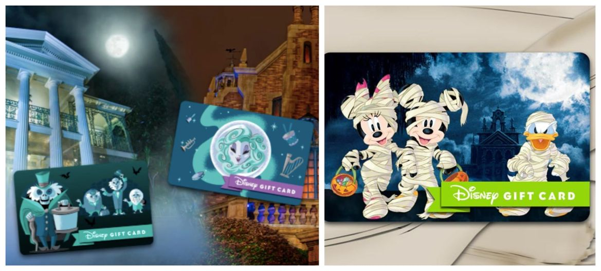 Special Edition Haunted Mansion Gift Cards Available At Disney Parks!