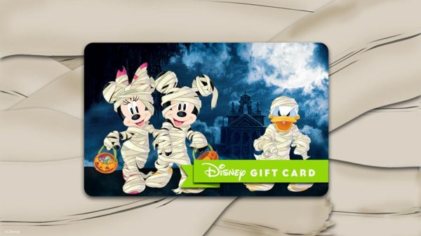 Special Edition Haunted Mansion Gift Cards Available At Disney Parks! 2