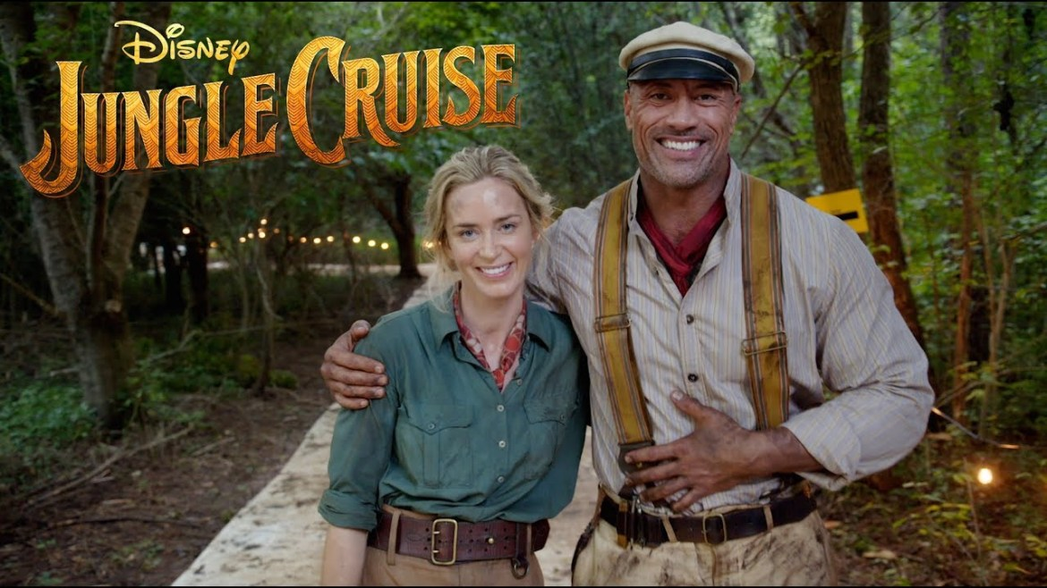 VIDEO: The Rock and Emily Blunt Announce Jungle Cruise Filming Wrap