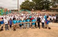 Disneyland Cast Members Help Build Playgrounds For Anaheim Community