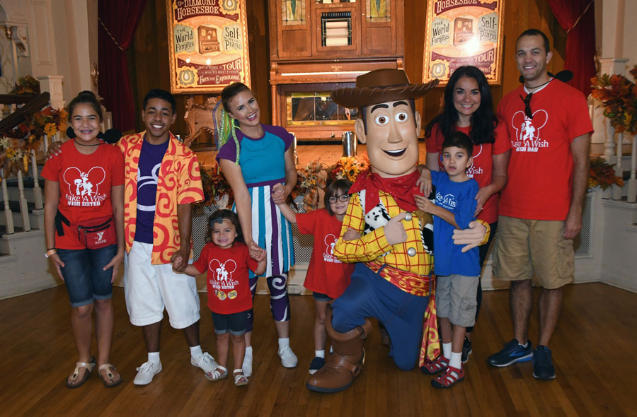 Make-A-Wish: Grant Has A Friend In Woody!