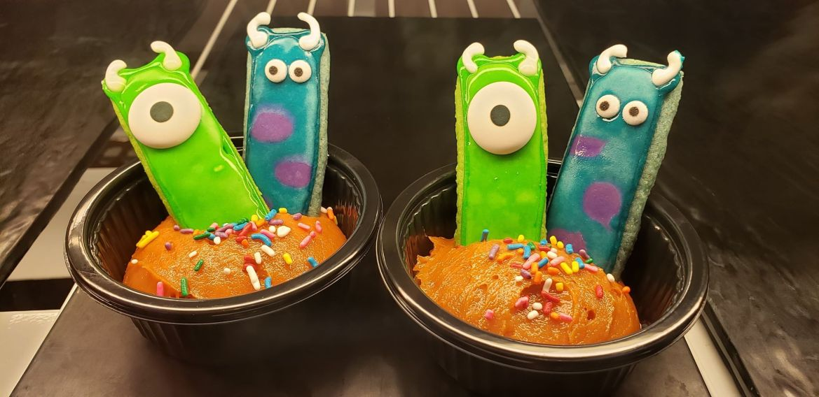 NEW Mike And Sulley Cookie Butter Is A SCREAM!!