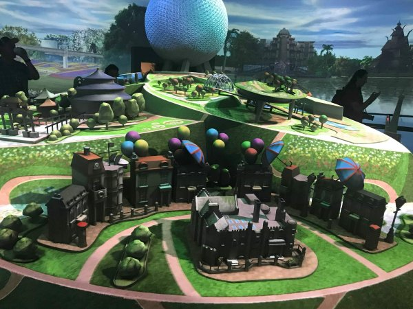 First Look inside the all new Epcot Experience Exhibit 1