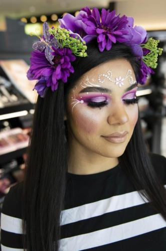 halloween makeover sephora disney springs