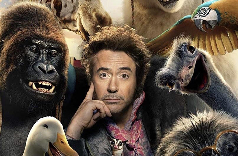 New Trailer Released for Universal's 'Dolittle' Starring Robert Downey Jr.