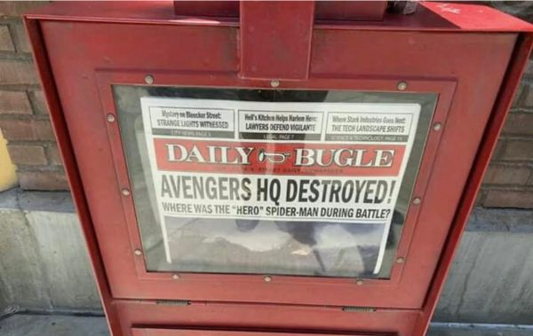 Disneyland 'Daily Bugle' News Stand Now Features 'Avengers: Endgame' Teasers 2