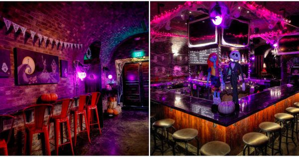 Dallas Pub Transforms in to Halloween Town from 'Nightmare Before Christmas' 1
