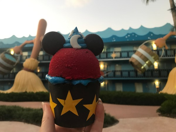 Sorcerer Mickey Cupcake at Disney's All-Star Movies Is Like Magic 1