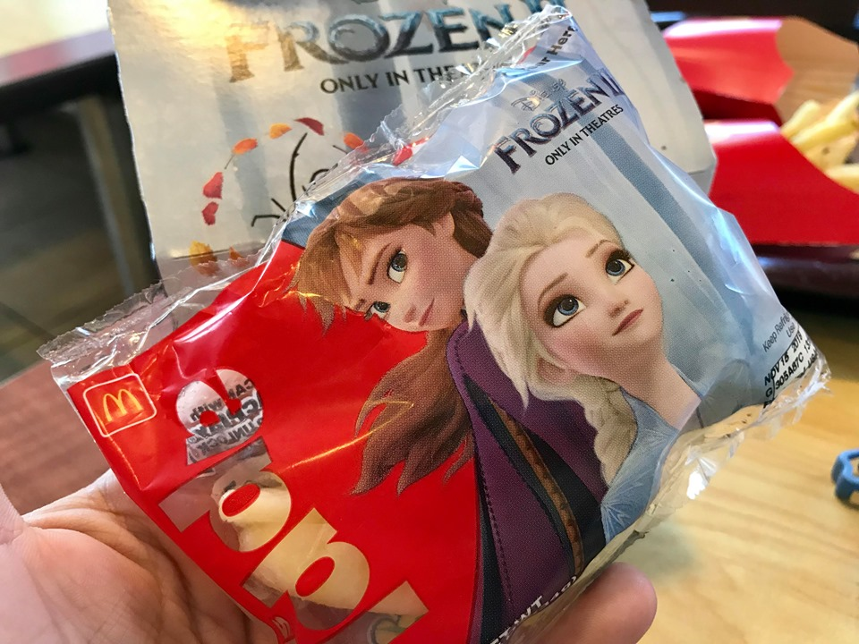 Frozen 2 Happy Meal Toys