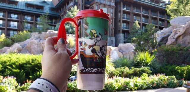 New Disney Resort Holiday Mug Lets You Refill With Festive Cheer 3