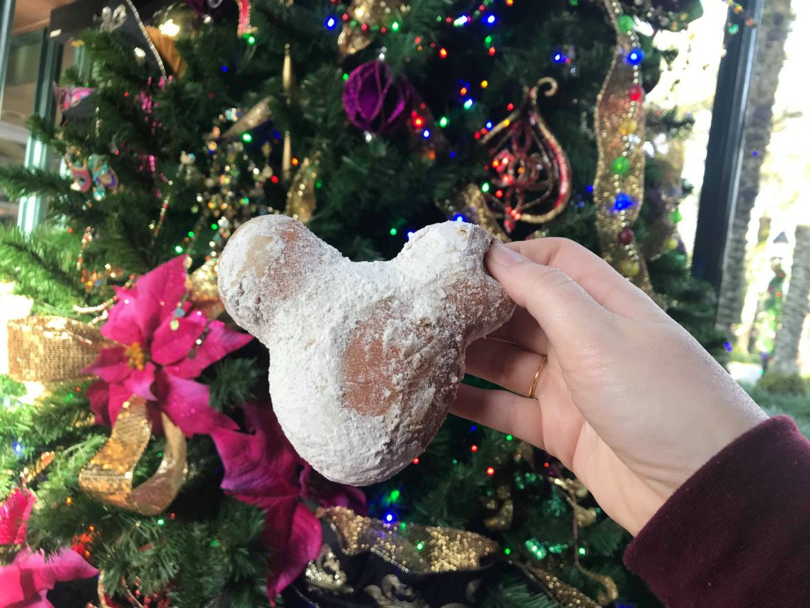 Gingerbread Beignets Have Returned at Disney's Port Orleans Resort