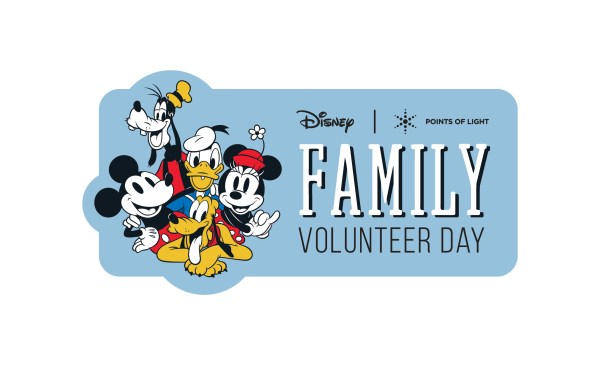 Disney and Points of Light To Host 'Family Volunteer Day' Event Nov. 23 at Disney Springs 1