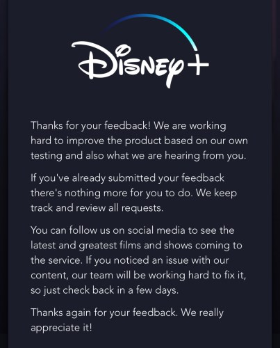 How to Request Missing Films and Shows on Disney+ 7
