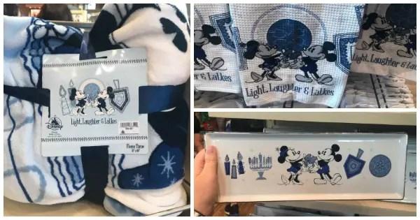 Disney Parks Hanukkah Merchandise Adds Magic To The Festival of Lights 1